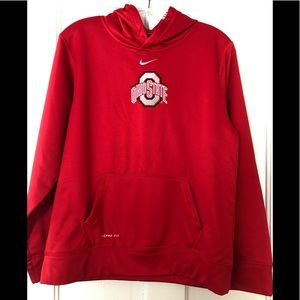 Ohio State Sweatshirt Red Size Youth XL